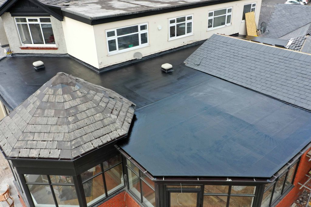 RoofCell Direct-lay GRP Roofing System Roof